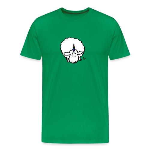 Ewenicorn: ¡es una oveja unicornio arcoiris! - Camiseta premium hombre