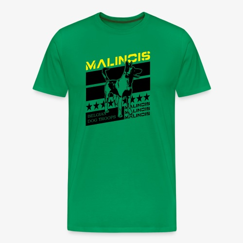 Malinois - Belgian Dog Troops - Männer Premium T-Shirt