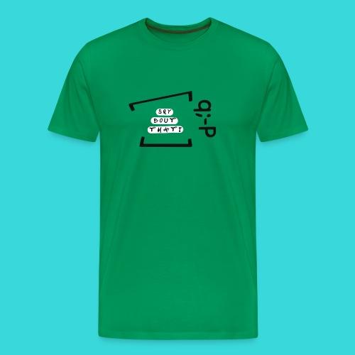 Sry bout that! q;-P - Männer Premium T-Shirt