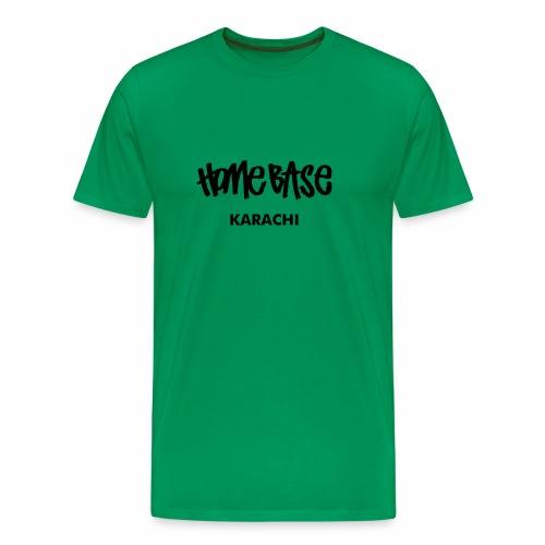 Home City Karachi - Männer Premium T-Shirt