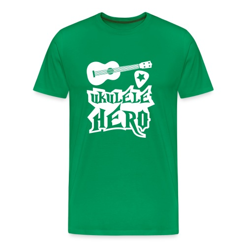 Ukelele Hero - Men's Premium T-Shirt