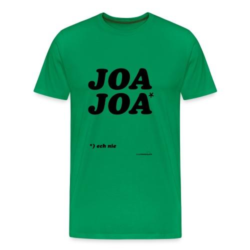 joajoazwart - Mannen Premium T-shirt
