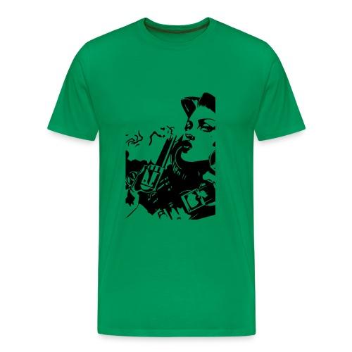 girlwithgun - Männer Premium T-Shirt