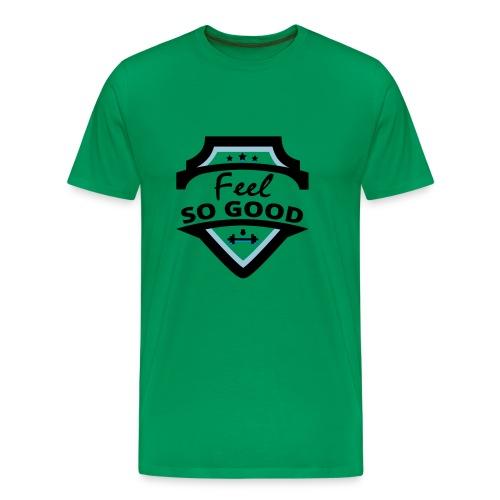 feelsogood white - Mannen Premium T-shirt