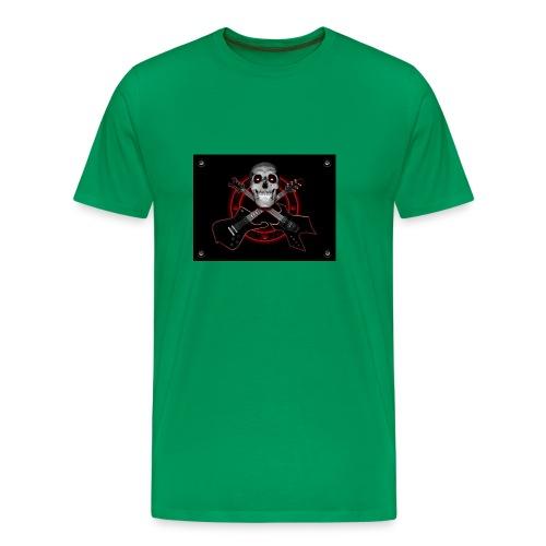 Guitarra Rockera - Camiseta premium hombre