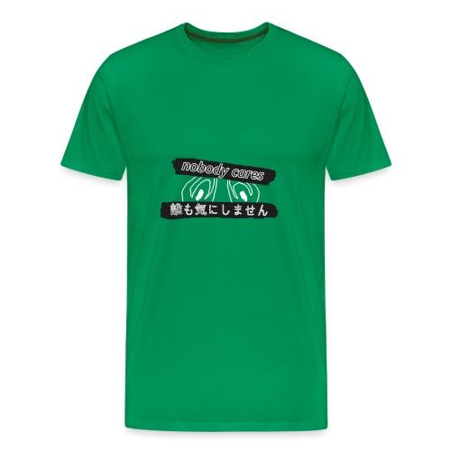 nobody cares po japońsku (passé) - Koszulka męska Premium