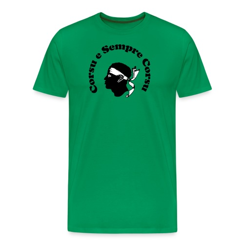 Corsu e Sempre Corsu transparent - Männer Premium T-Shirt