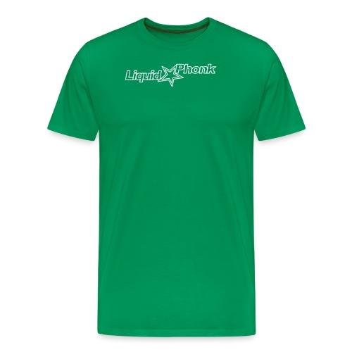 liquidphonk logo_white 99 - Men's Premium T-Shirt