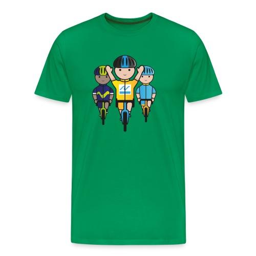 Mini-Racers-Finish - Men's Premium T-Shirt