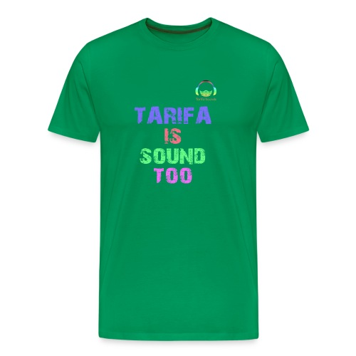 Tarifa tambiés es sonido - Camiseta premium hombre
