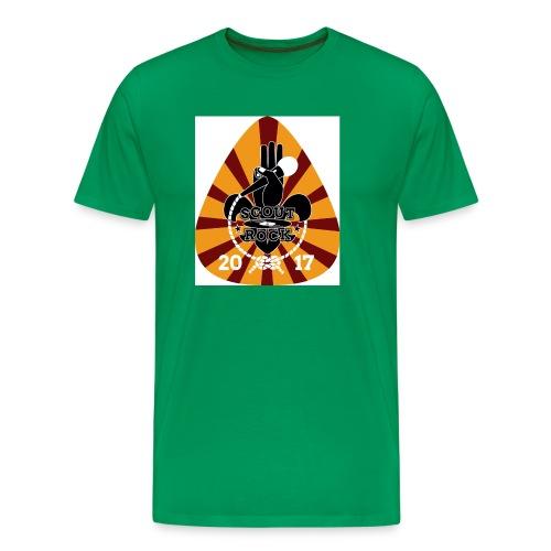 Logo Test ScoutRock - Männer Premium T-Shirt