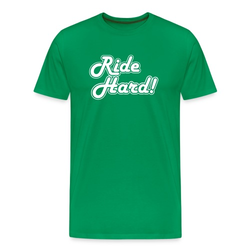 ride hard1 - Mannen Premium T-shirt