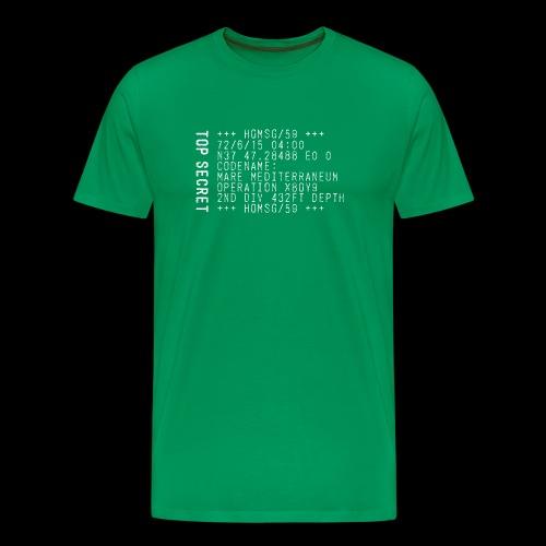 Top Secret (white) - Men's Premium T-Shirt