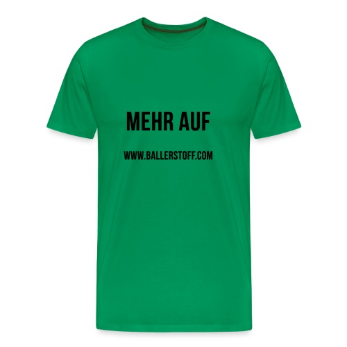 www.ballerstoff.com - Männer Premium T-Shirt