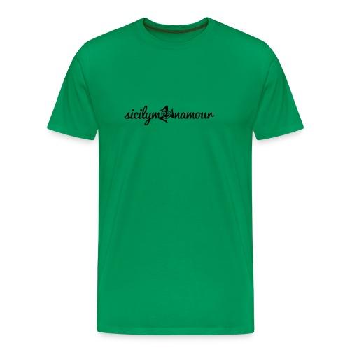 Sicilymonamour TM black - Maglietta Premium da uomo