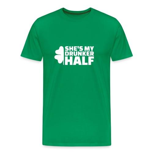 SHE'S MY DRUNKER HALF - T-shirt Premium Homme