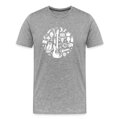 Outdoor metal - Mannen Premium T-shirt