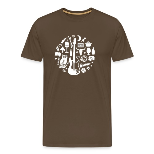 Outdoor metal - Mannen Premium T-shirt