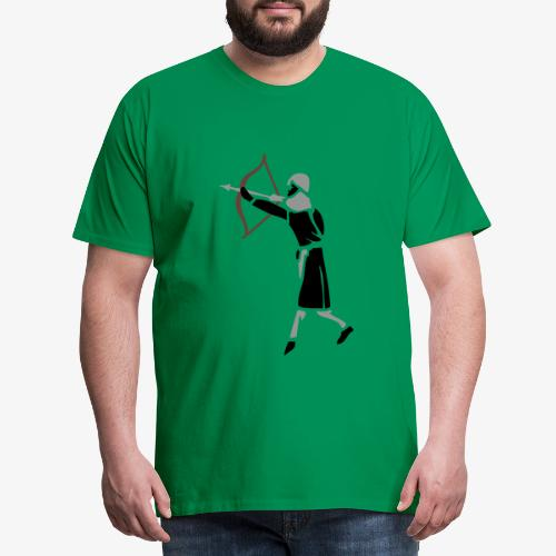 Archer Medieval Icon patjila design - Men's Premium T-Shirt