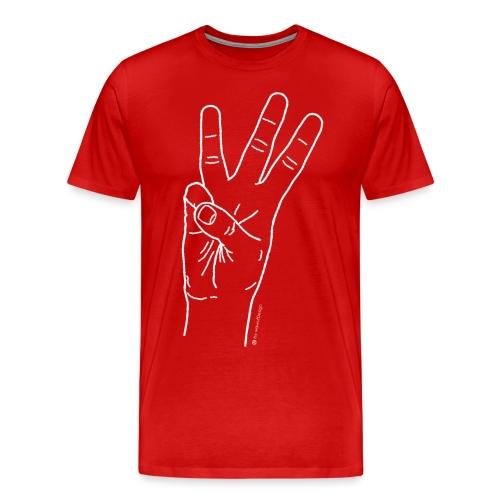 3 g - T-shirt Premium Homme