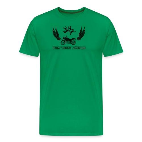 parabiker ms vectorized01 - Männer Premium T-Shirt