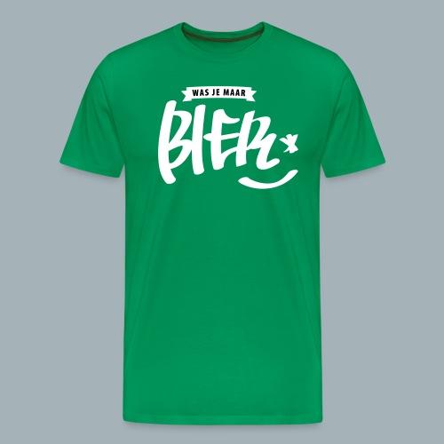 Bier Premium T-shirt - Mannen Premium T-shirt