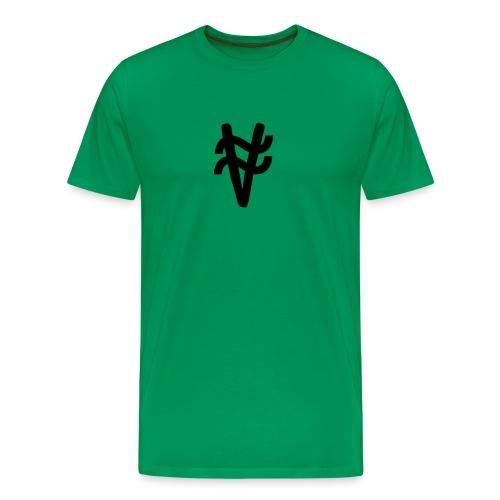 ny logga - Premium-T-shirt herr