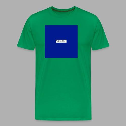 problemer - Herre premium T-shirt