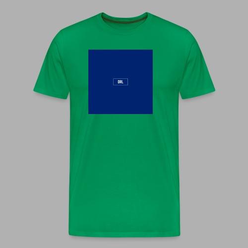 Den rigtige løsning box - Herre premium T-shirt