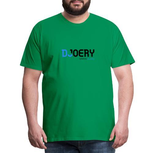 logo transparentbg blacktext - Mannen Premium T-shirt