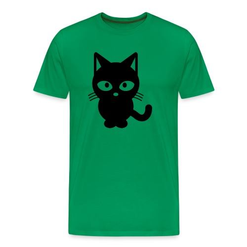 Styled Black Cat - T-shirt Premium Homme