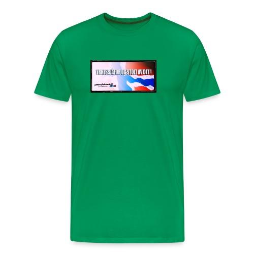 Stoltnorsk2 - Premium T-skjorte for menn