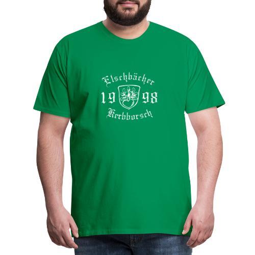 Logo Kerbborsch 98 weiss - Männer Premium T-Shirt