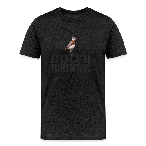 Kaspische Plevier Caspian Plover Charadrius - Mannen Premium T-shirt