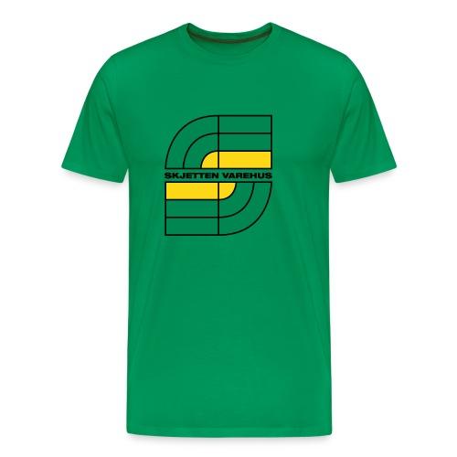 skjetten - Premium T-skjorte for menn