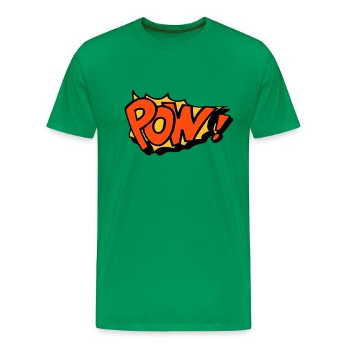 Comic pow! - Men's Premium T-Shirt