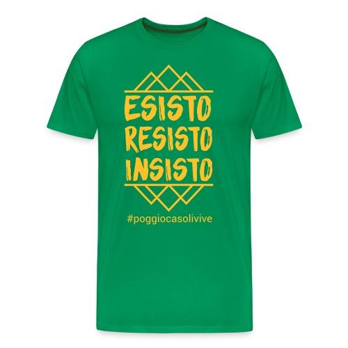 patch resisto - Maglietta Premium da uomo