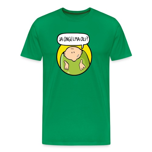 Sulo-maski - Miesten premium t-paita