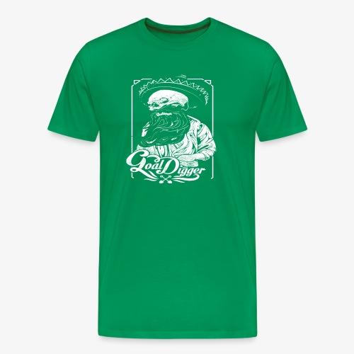 Cool Digger - Herre premium T-shirt
