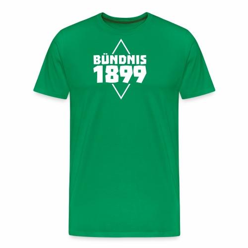Bündnis 1899 Raute - Männer Premium T-Shirt