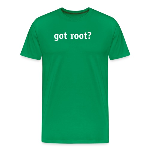 got root? - Men's Premium T-Shirt