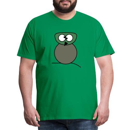 Owl crazy - c - Männer Premium T-Shirt
