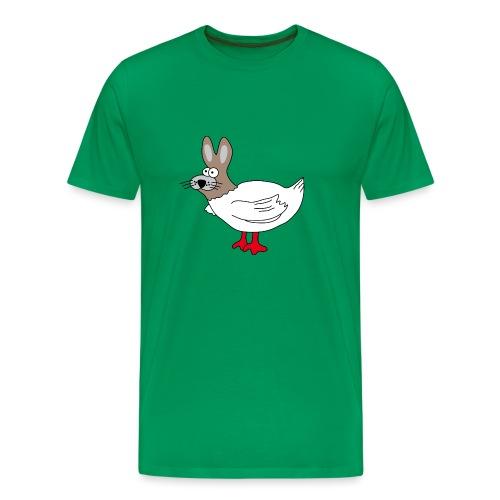 Hasenhuhn - Männer Premium T-Shirt