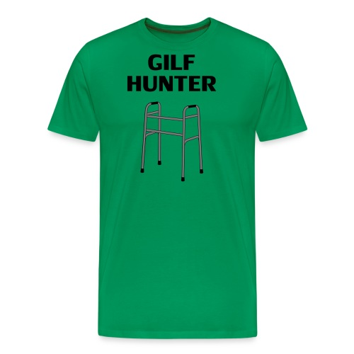 GILF Hunter - Männer Premium T-Shirt