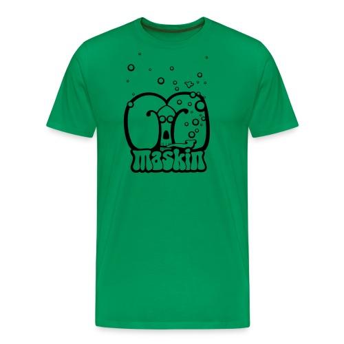 Masin pipe simple - Premium-T-shirt herr
