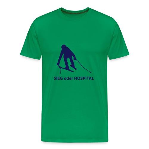 Sieg oder Hospital SuperG 02 Strand Shop - Männer Premium T-Shirt