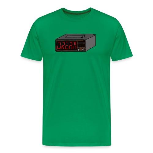 radiowecker rot png - Männer Premium T-Shirt
