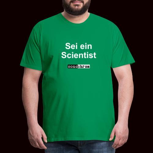 tshirt scientist - Men's Premium T-Shirt