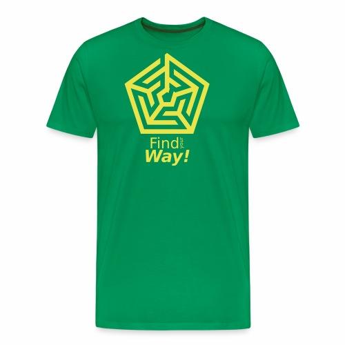 Labyrinth - Männer Premium T-Shirt