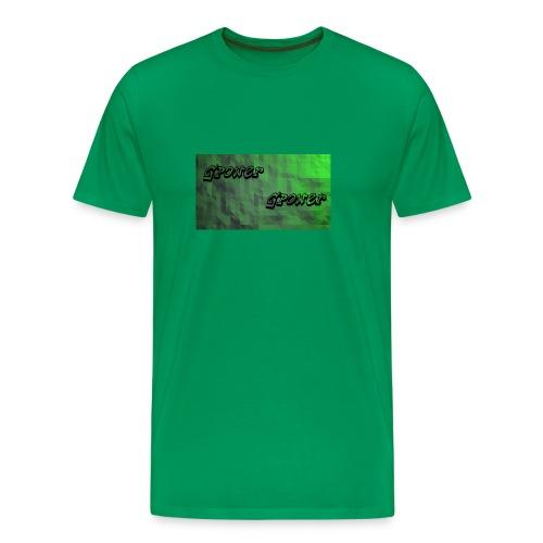 t-shirt met gpower - Mannen Premium T-shirt
